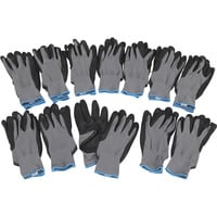Ironton Nitrile-Coated Gloves - 12 Pairs
