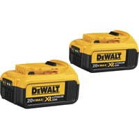 FREE SHIPPING — DEWALT 20V MAX Premium XR Lithium-Ion Battery — 2-Pk., 20 Volt, 4.0Ah, Model# DCB204-2