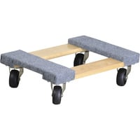 Ironton Carpeted Mover's Dolly — 1,000-Lb. Capacity, 18in. x 12in.