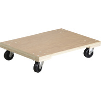 Ironton Heavy-Duty Platform Dolly — 1,000-Lb. Capacity, 30in.L x 18in.W