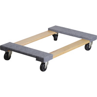 Ironton Carpeted Mover's Dolly — 1,000-Lb. Capacity, 30in.L x 18in.W