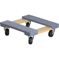 Ironton Carpeted Mover's Dolly — 1,000-Lb. Capacity, 16in.L x 16in.W