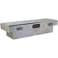 Northern Tool + Equipment Crossover Truck Tool Box— Diamond Plate Aluminum, 61.5in.