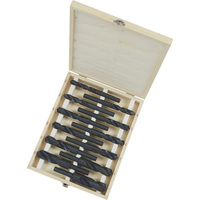 FREE SHIPPING — Klutch Silver and Deming Step Drill Bit Set — 1/2in. Dia. Shank, 12-Pc. Set