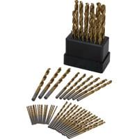 FREE SHIPPING — Ironton Titanium-Coated Drill Bit Set — 63-Pc.