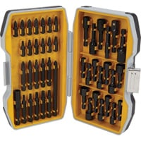 FREE SHIPPING — Klutch Impact-Grade Power Bit Set — 45-Pc.