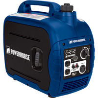 FREE SHIPPING — Powerhorse Portable Inverter Generator — 2000 Surge Watts, 1600 Rated Watts, CARB Compliant