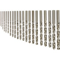 FREE SHIPPING — Klutch Cobalt High Speed Steel Drill Bit Set — 21-Pc.