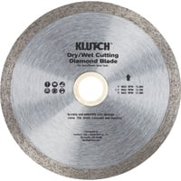 FREE SHIPPING — Klutch 4.5in. Continuous Rim Diamond Tile Blade