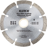 FREE SHIPPING — Klutch 4in. Segmented Diamond Blade