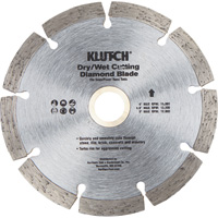 FREE SHIPPING — Klutch 4.5in. Segmented Diamond Blade