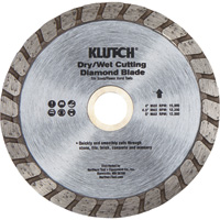 FREE SHIPPING — Klutch 4in. Turbo Diamond Blade