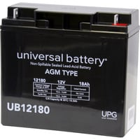 UPG Sealed Lead-Acid Battery — AGM-type, 12V, 18 Amps