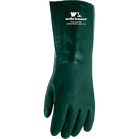 Wells Lamont Men's 14in. Textured-Grip PVC Gloves - Green, Large