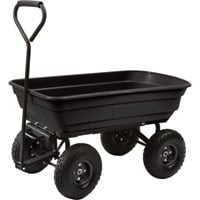 Northern Tool + Equipment Poly Dump Cart — 38in.L x 20in.W, 600-Lb. Capacity