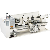 FREE SHIPPING — SHOP FOX Bench-Top Metal Lathe — 9in. x 19in., Model# M1049