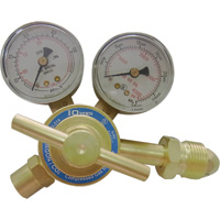 Northern Industrial Welders Flow Gauge MIG/TIG Regulator — Argon or Argon/CO2, 2in. Diameter