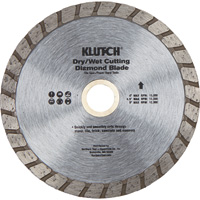FREE SHIPPING — Klutch Turbo Diamond Blade — 4.5in.