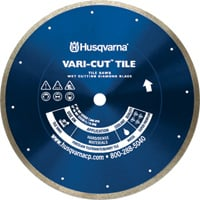 FREE SHIPPING — Husqvarna Vari-Cut Tile Diamond Blade — 4in. x 0.060in. x 7/8–5/8, Model# Vari-Cut Tile/Granite