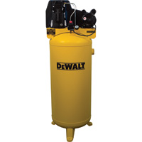 DeWALT Vertical Air Compressor — 60 Gallon, Cast Iron, Oil Lubricated, Belt Drive, 3.7 HP, Model# DXCMLA3706056