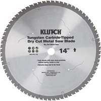 FREE SHIPPING — Klutch 14in. Dry Cut Metal Saw Blade
