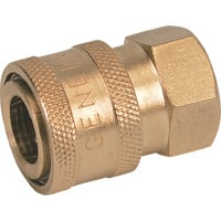 General Pump Pressure Washer Quick Coupler — 1/2in. Inlet, 4500 PSI, 12.0 GPM, Brass, Model# ND10013P