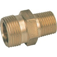 NorthStar Hose Fitting — 4000 PSI, M22 Male x 1/4in., Brass, Model# ND10021P