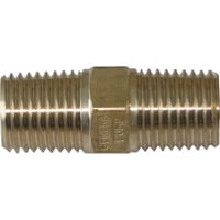 NorthStar Pressure Washer Nipple — 4000 PSI, 3/8in. Fitting, Steel, Model# ND10052P