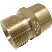 NorthStar Female Screw TP Plug — 4000 PSI, 3/8in. x M22 Size, Brass, Model# ND10024P