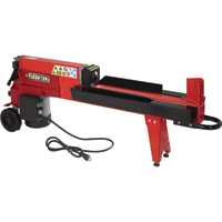 Ironton Horizontal Electric Log Splitter — 5-Ton