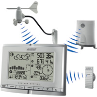 La Crosse Technology Professional Weather Station Center, Model# WS-1517