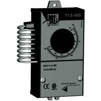 Vostermans Multifan Mechanical Thermostat — Single Pole, Double Throw, Model# TT15WDCAM1A