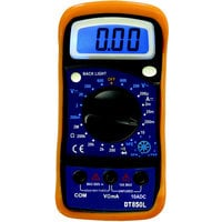 Ironton Digital Pocket Multimeter — 6 Functions