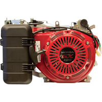 Honda Horizontal OHV Engine for Generators with Electric Start — 389cc, GX Series, Tapered 7/8in. x 5 1/16in. Shaft, Model# GX390RT2VWE