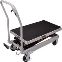 Roughneck Rapid Lift XT Lift Table — 1,000lb. Capacity, 54 1/2in. Max. Lift Height