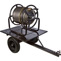 Ironton Trailered Garden Hose Reel — Holds 5/8in. x 400ft. Hose