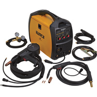 FREE SHIPPING — Klutch MIG/Stick 220Si 230V Multi-Process Welder with Spool Gun — 230V, 140 Amp