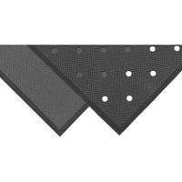 NoTrax Superfoam Anti-Fatigue/Safety Mat — 2ft. x 3ft., Black, Model# T17S0032BL
