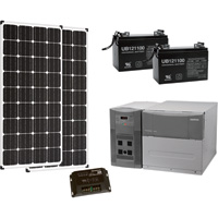 Strongway Complete Solar Power System — 1800 Watts