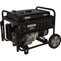Ironton Portable Generator — 7000 Surge Watts, 5500 Rated Watts, EPA Compliant, Model# DF7000