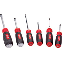 Milwaukee Screwdriver Set — 6-Pc., Model# 48-22-2006