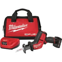 FREE SHIPPING — Milwaukee M12 FUEL Hackzall Reciprocating Saw Kit — 12 Volt, Model# 2520-21XC