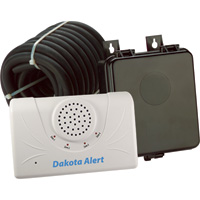 Dakota Alert Rubber Hose Alert, Model# DCRH-2500 — Excellent Surveillance, Super-Easy Installation