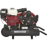FREE SHIPPING — NorthStar Gas-Powered Air Compressor — Honda GX270 OHV Engine, 8-Gallon Twin Tank, 14.9 CFM @ 90 PSI