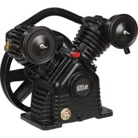 FREE SHIPPING — NorthStar Air Compressor Pump — 1-Stage, 2-Cylinder, 13.7 CFM @ 90 PSI