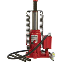 FREE SHIPPING — Strongway 20-Ton Air/Hydraulic Bottle Jack