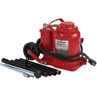 FREE SHIPPING — Strongway 50-Ton Air/Hydraulic Bottle Jack