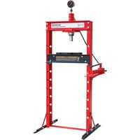 Strongway 20-Ton Hydraulic Shop Press with Gauge
