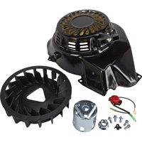 Ironton Replacement Recoil and Fan Kit for Item# 45752, Ironton 420cc OHV Horizontal Engine