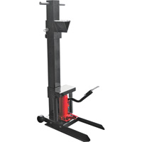 Ironton Vertical Foot-Operated Log Splitter — 8-Ton